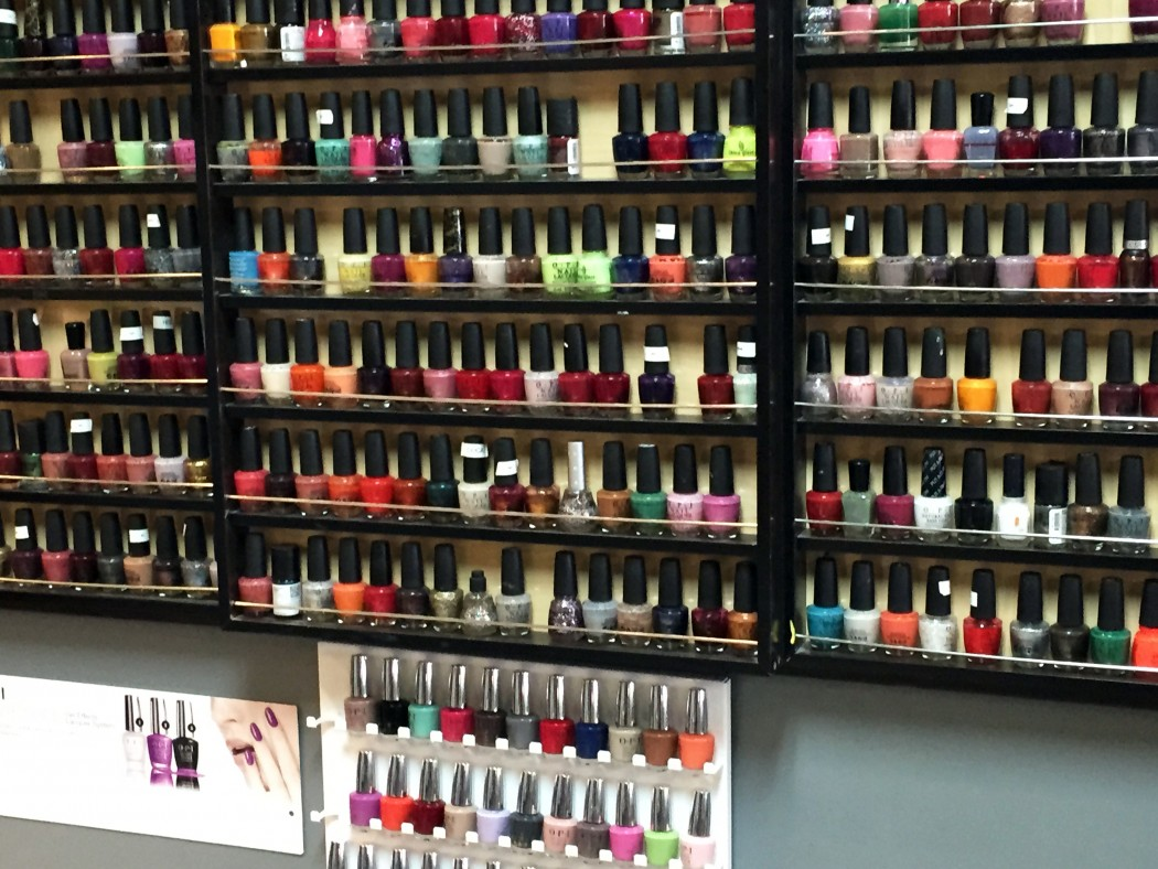 Many colors to choose from
